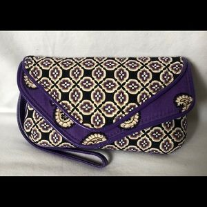 NWOT Vera Bradley flap wristlet wallet